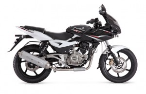 BAJAJ PULSAR 220 F WITH FULL FAIRING WITH ELECTRIC START