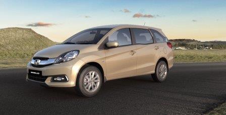 Honda Mobilio Metallic 1 5 V Mt Ivtec Petrol Csd Price List Chennai